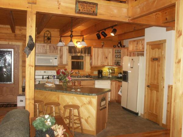 cabin full kitchen
