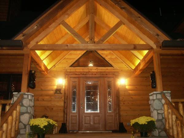 Adventurewood is a Gorgeous Luxury Log Cabin